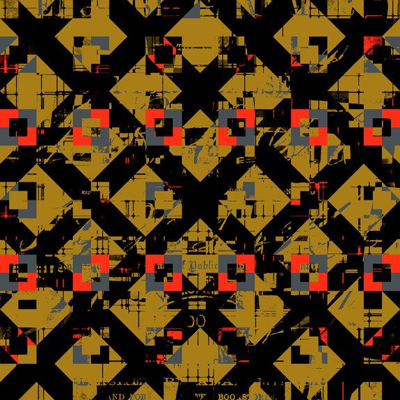 abstract patterned image